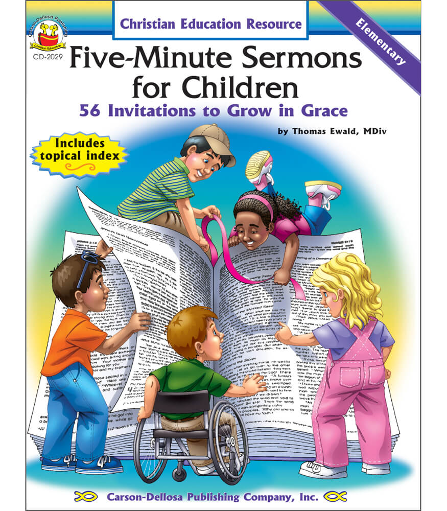 Five-Minute Sermons for Children Resource Book Product Image