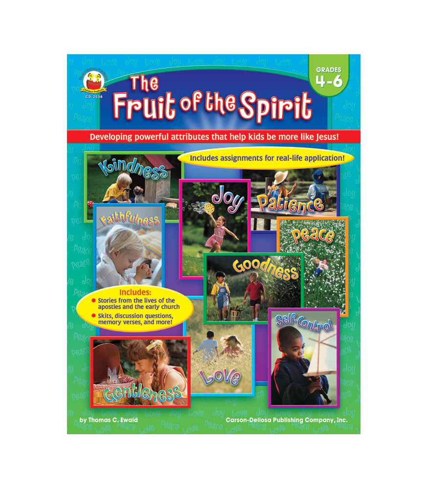 The Fruit of the Spirit Resource Book Product Image