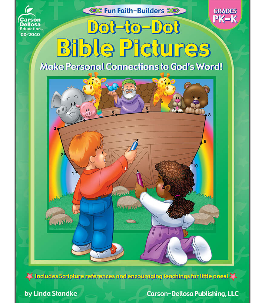 Dot-to-Dot Bible Pictures Activity Book Product Image