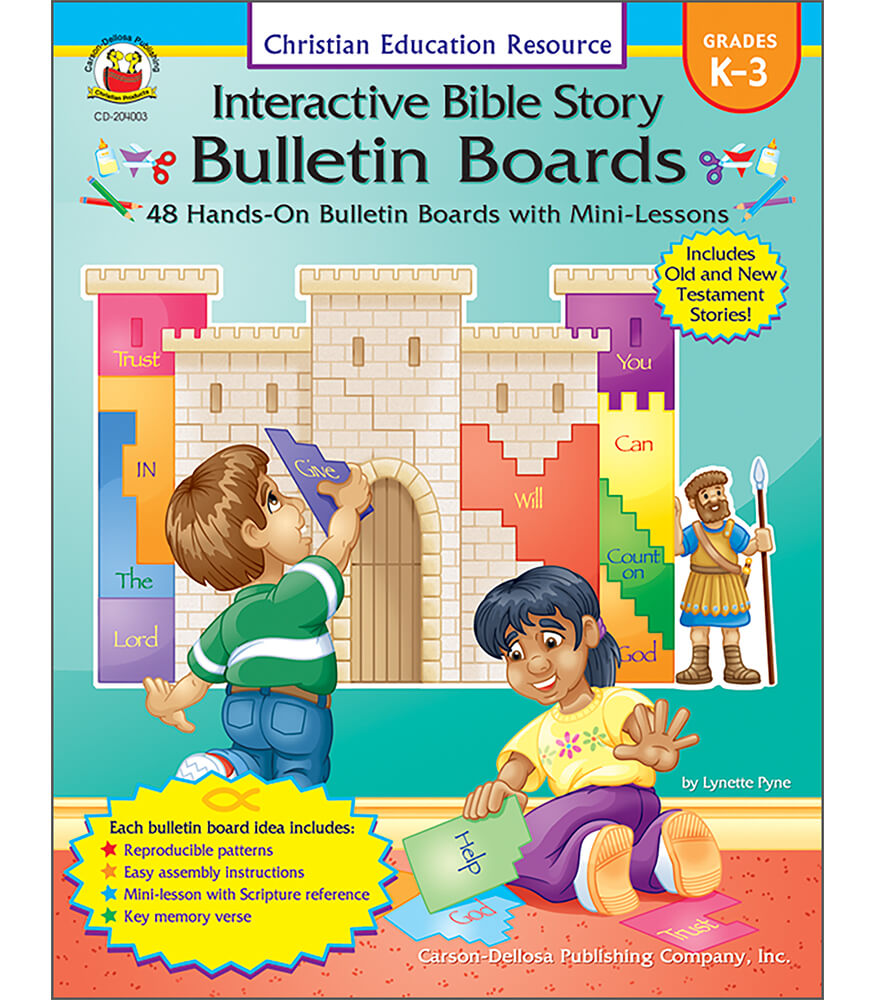 Interactive Bible Story Bulletin Boards Resource Book Product Image