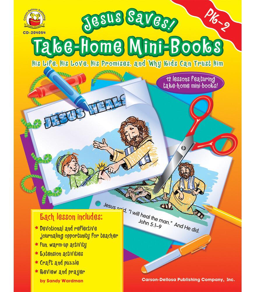 Jesus Saves! Take-Home Mini-Books Resource Book Product Image