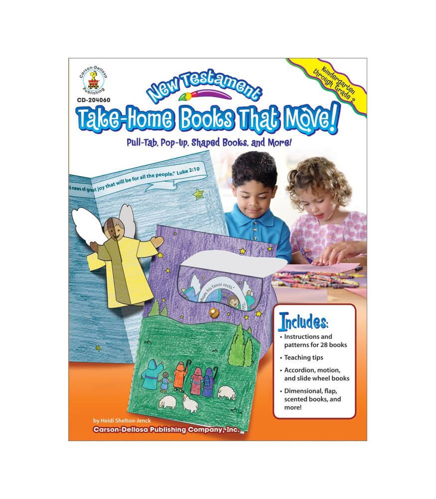 New Testament Take-Home Books That Move! Resource Book Product Image