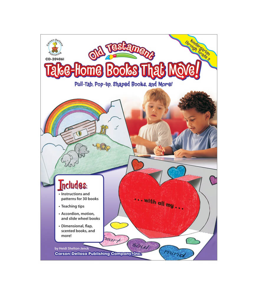 Old Testament Take-Home Books That Move! Resource Book Product Image