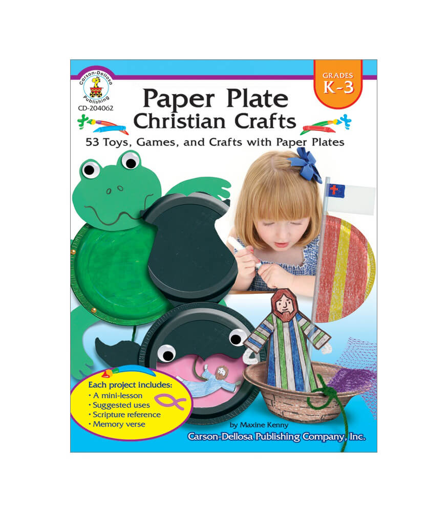 Paper Plate Christian Crafts Resource Book Product Image