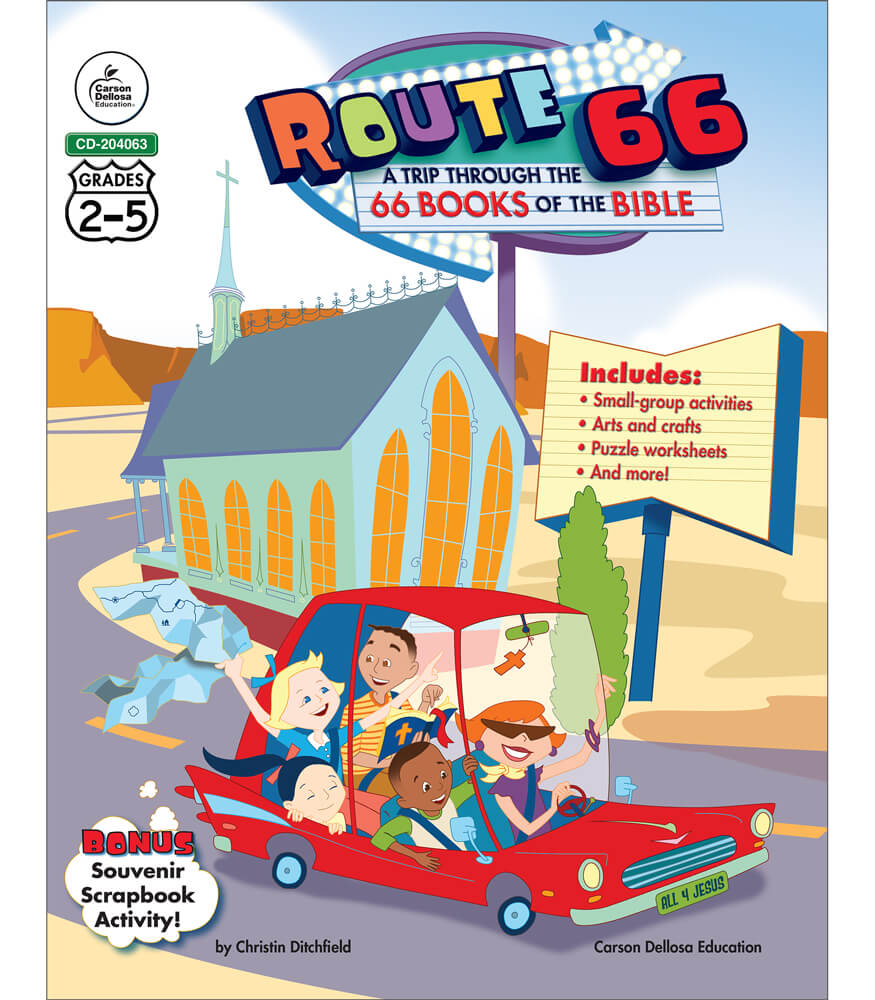 Route 66: A Trip through the 66 Books of the Bible Resource Book Product Image