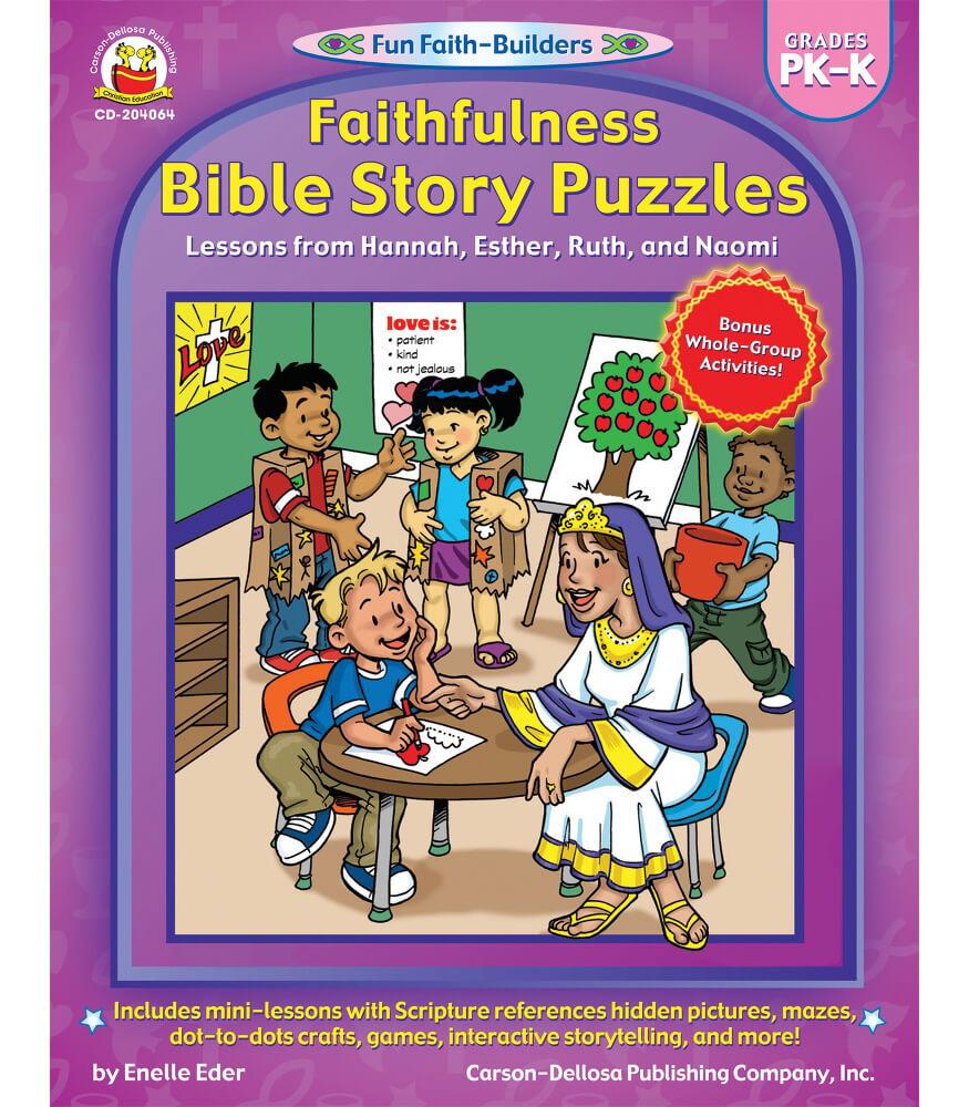 Faithfulness Bible Story Puzzles Activity Book Product Image