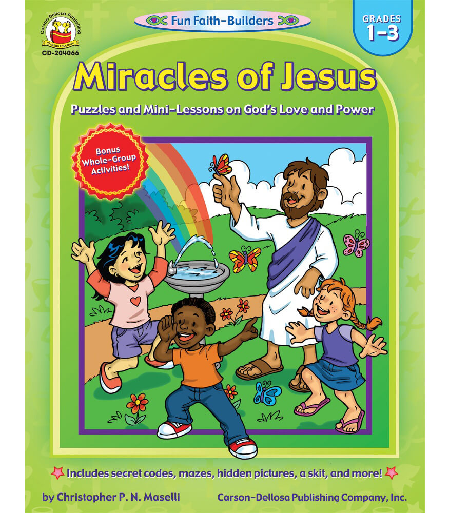 Miracles of Jesus Activity Book Product Image