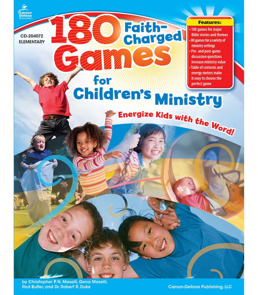 180 Faith-Charged Games for Children's Ministry Resource Book Product Image