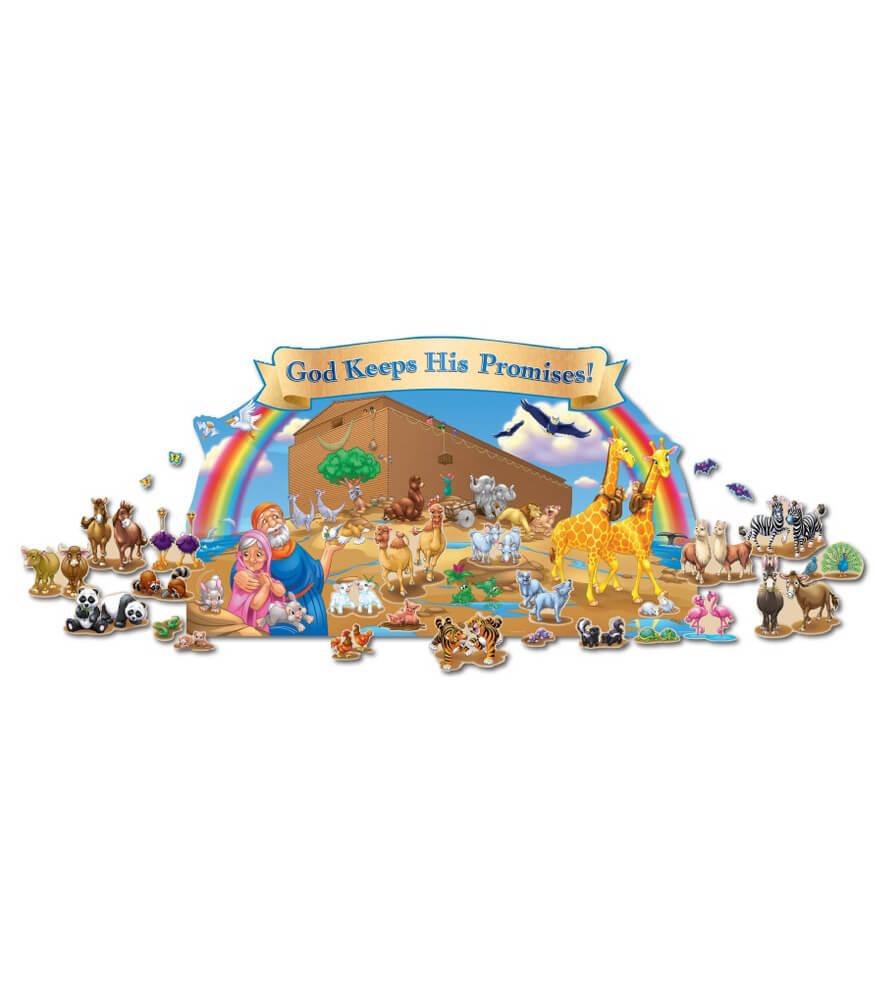 Noah's Ark Bulletin Board Set Product Image