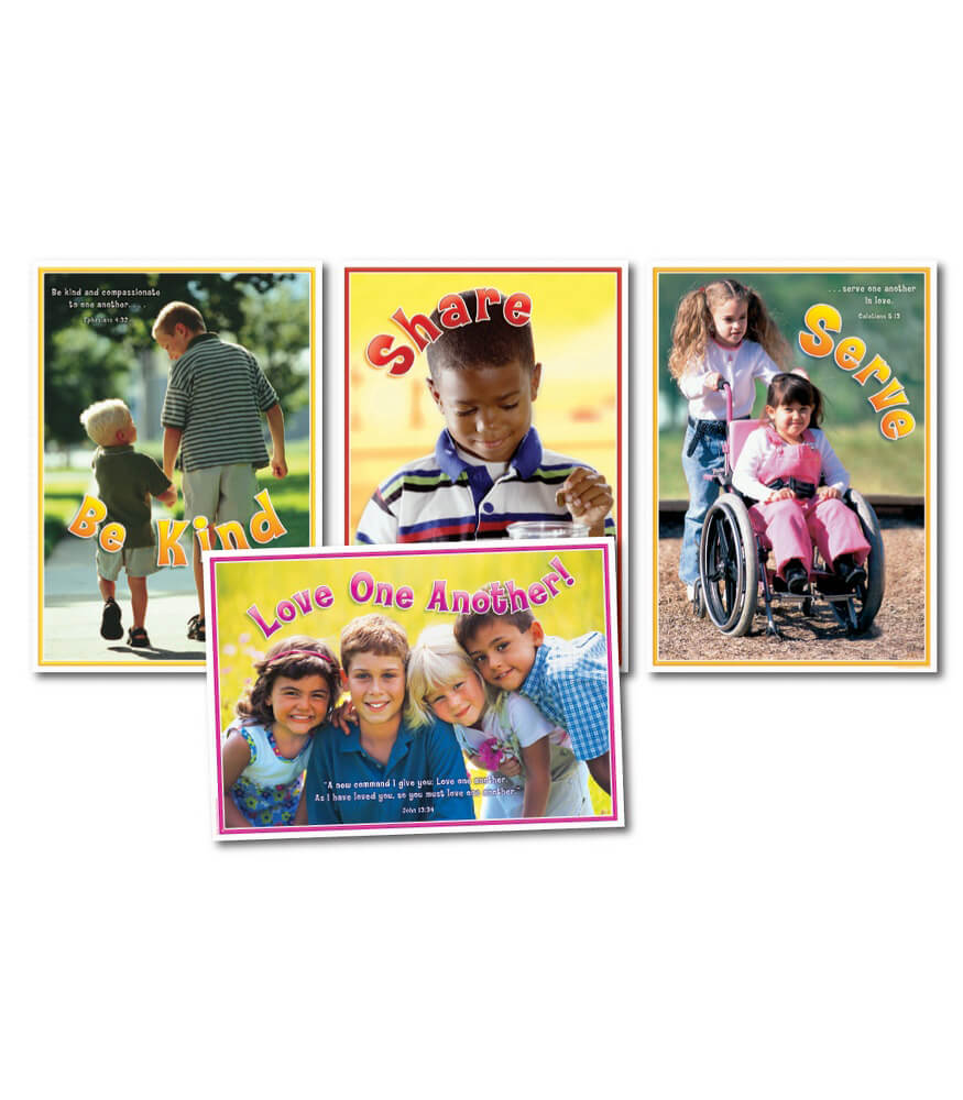 Love One Another Bulletin Board Set Product Image