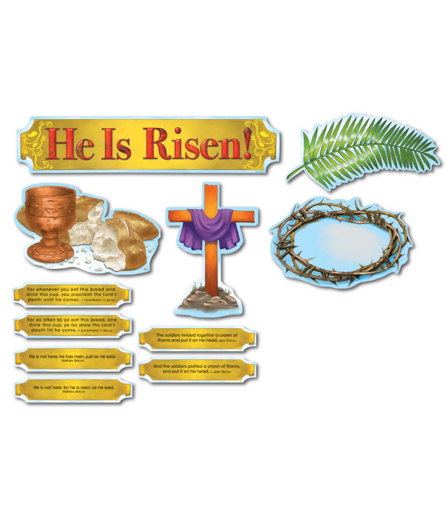 He Is Risen! Bulletin Board Set Product Image