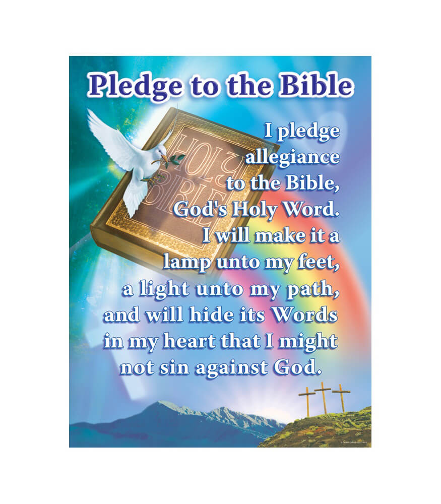 Pledge to the Bible Chart Product Image