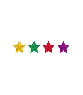 Stars, Multicolor Chart Seals Product Image
