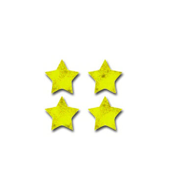 Stars, Gold Foil Chart Seals Product Image