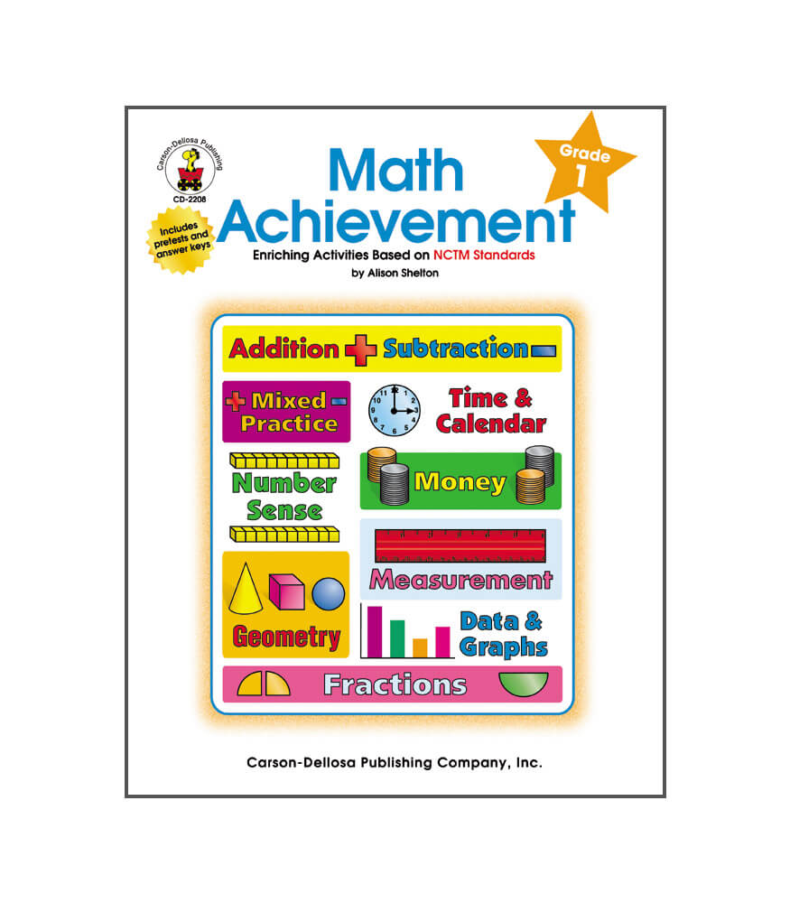 Math Achievement Resource Book Product Image