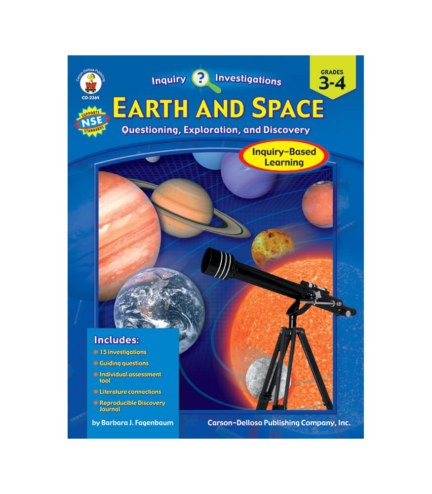 Earth and Space Resource Book Product Image