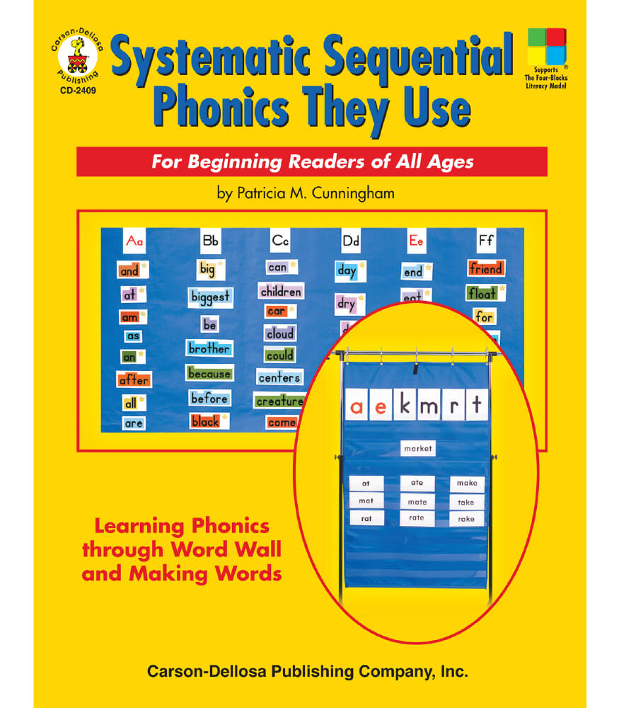 Systematic Sequential Phonics They Use Resource Book Product Image