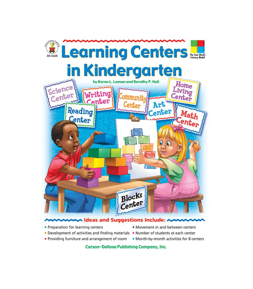 Learning Centers in Kindergarten Resource Book Product Image