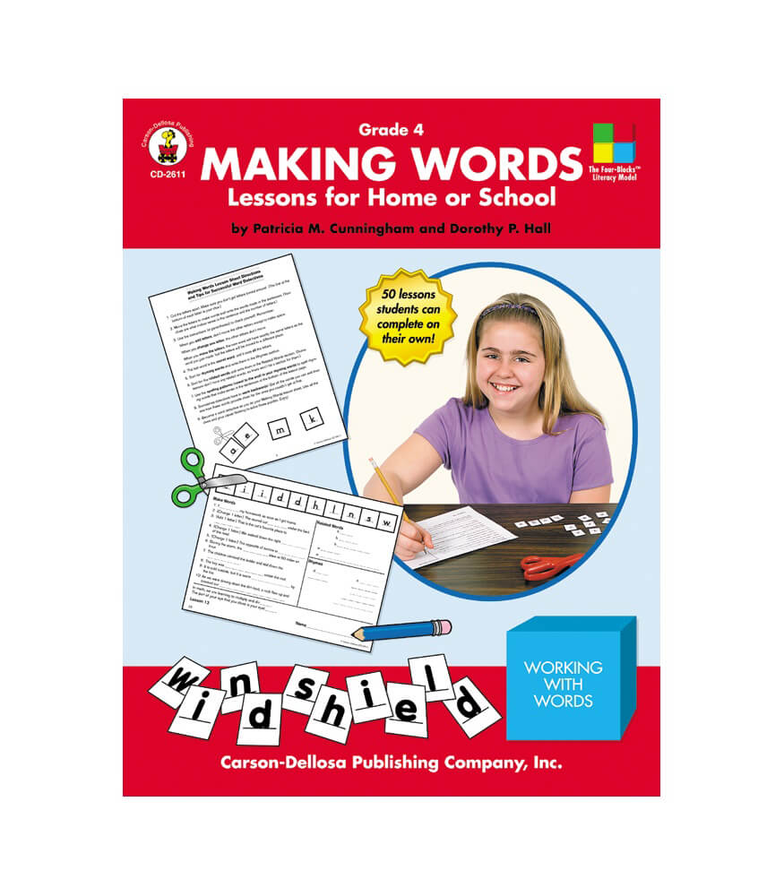 Making Words Resource Book Product Image
