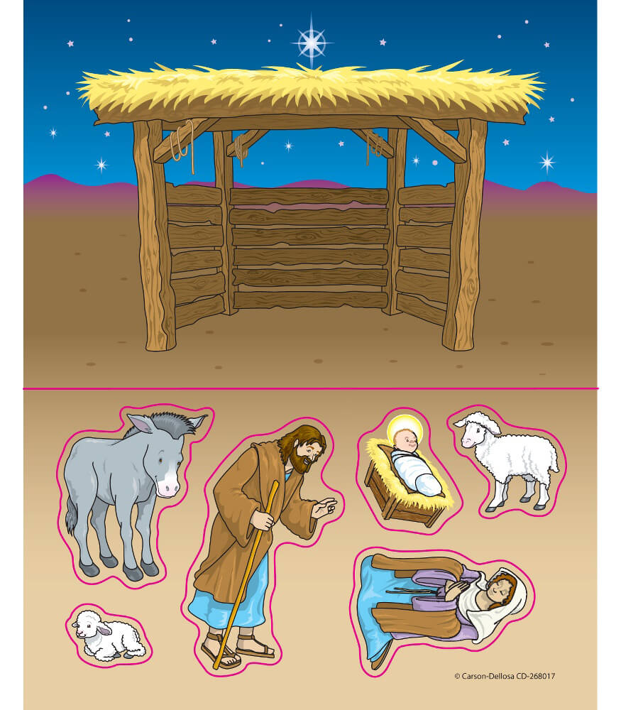 Nativity Sticker Pack Product Image