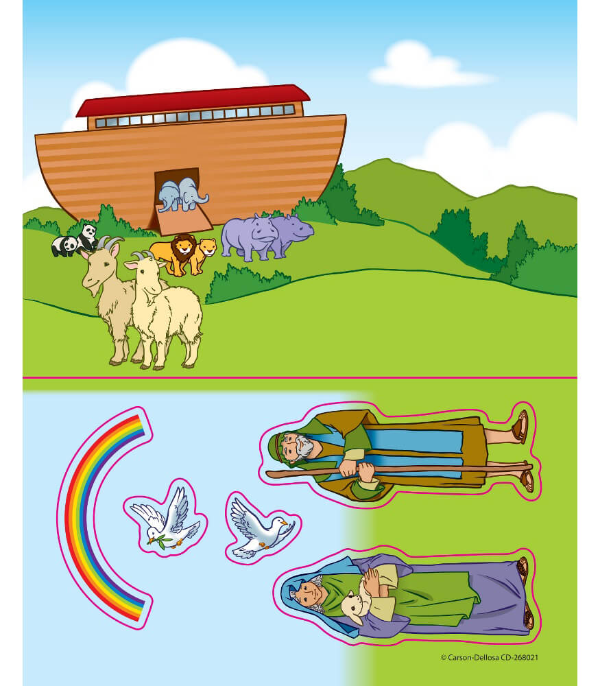 Noah's Ark Sticker Pack Product Image