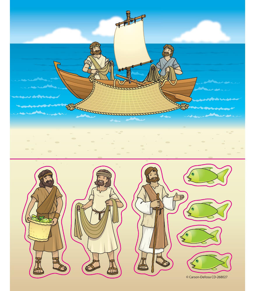 Fishers of Men Sticker Pack Product Image