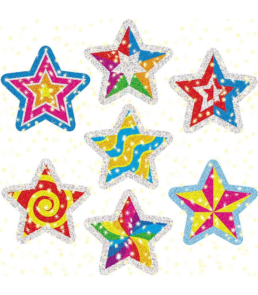 Star Power Dazzle™ Stickers Product Image