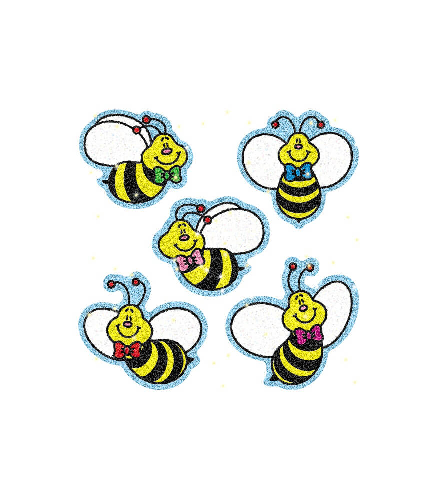 Bees Dazzle™ Stickers Product Image