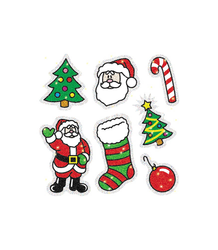 Christmas Dazzle™ Stickers Product Image