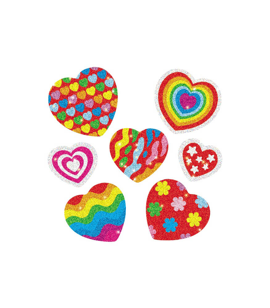 Hearts Dazzle™ Stickers Product Image