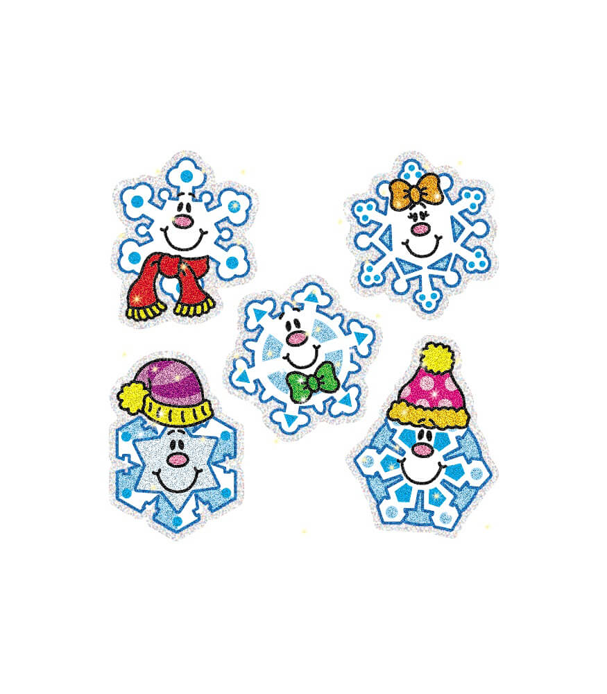 Snowflakes Dazzle™ Stickers Product Image
