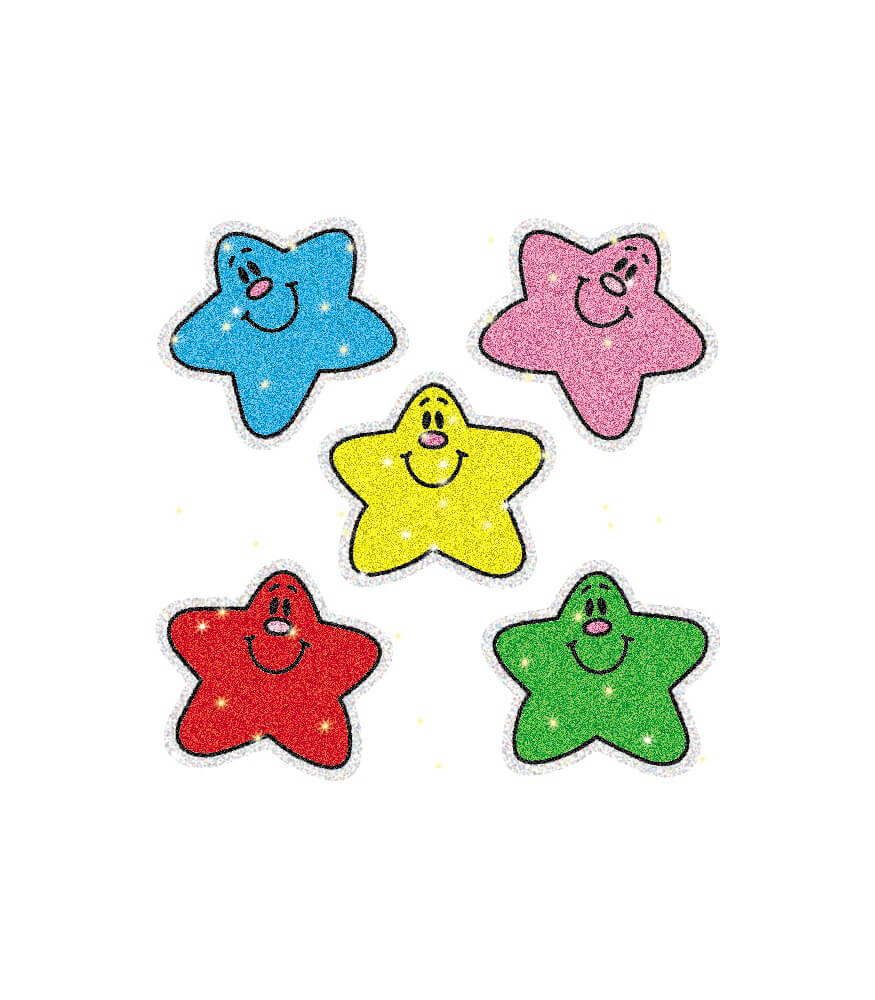 Stars Dazzle™ Stickers Product Image