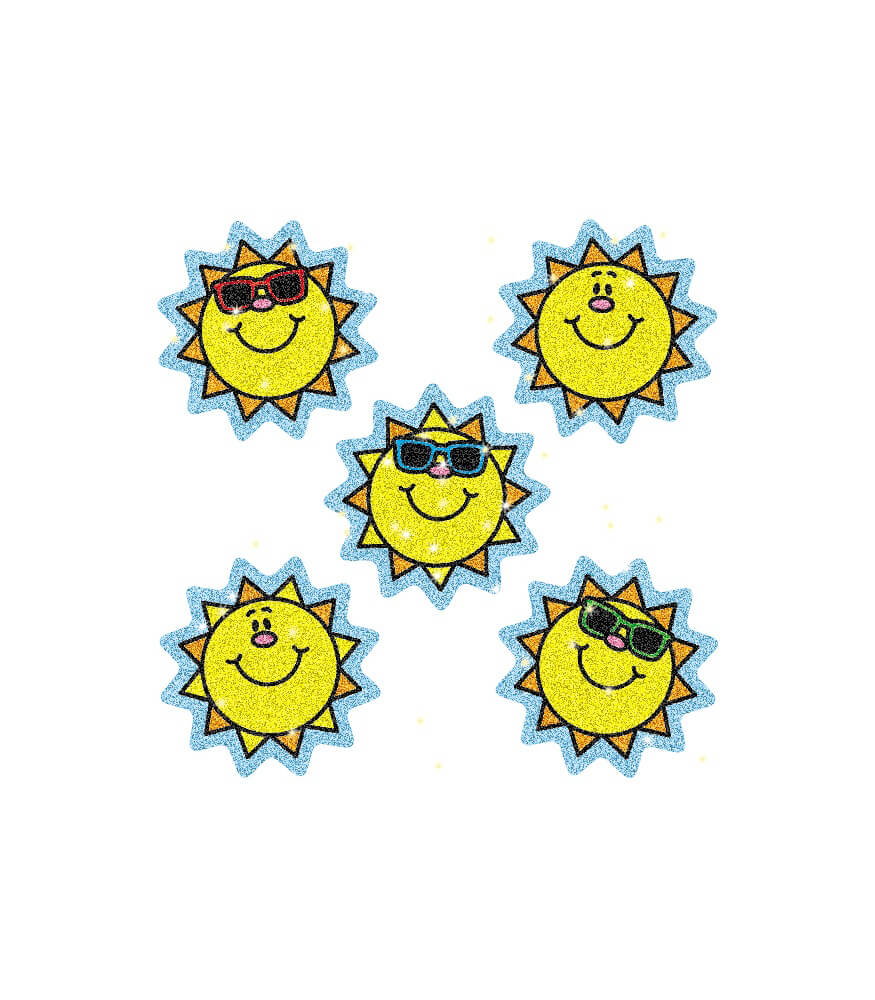 Suns Dazzle™ Stickers Product Image