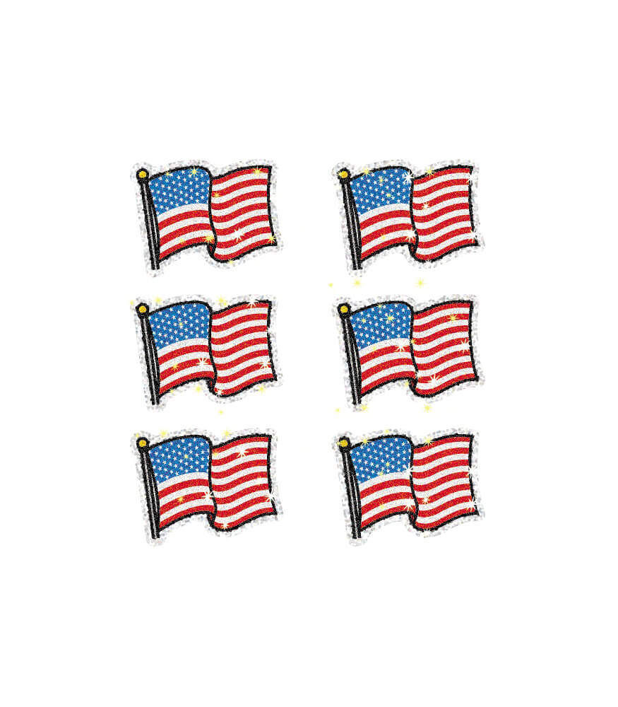 Flags Dazzle™ Stickers Product Image