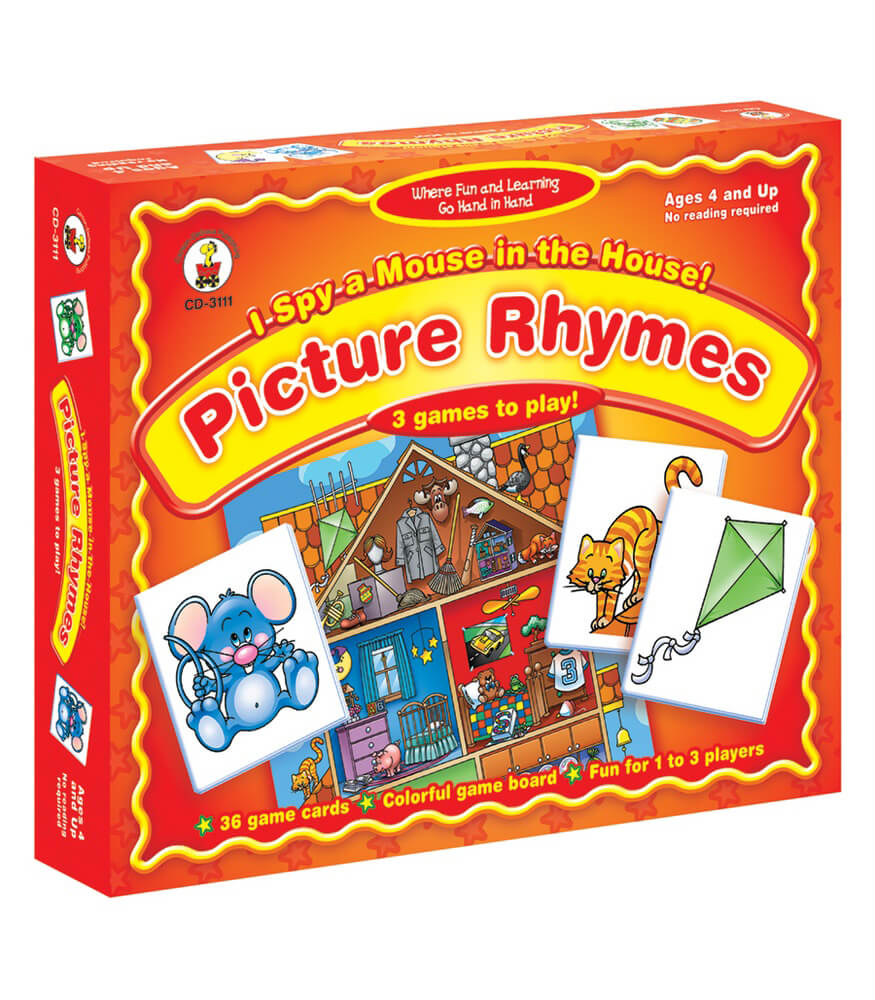 I Spy a Mouse in the House! Picture Rhymes Board Game Product Image