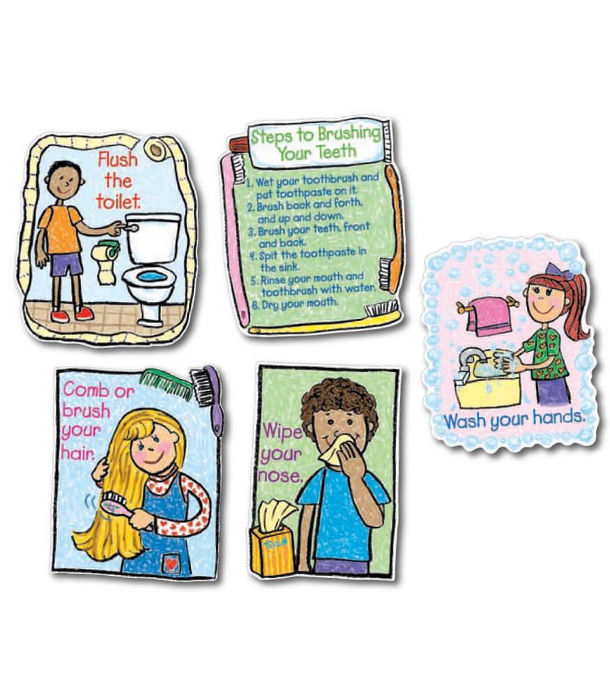 Hygiene: Kid-Drawn Bulletin Board Set Product Image