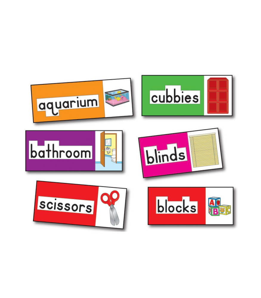 Print-Rich Classroom Labels Bulletin Board Set Product Image