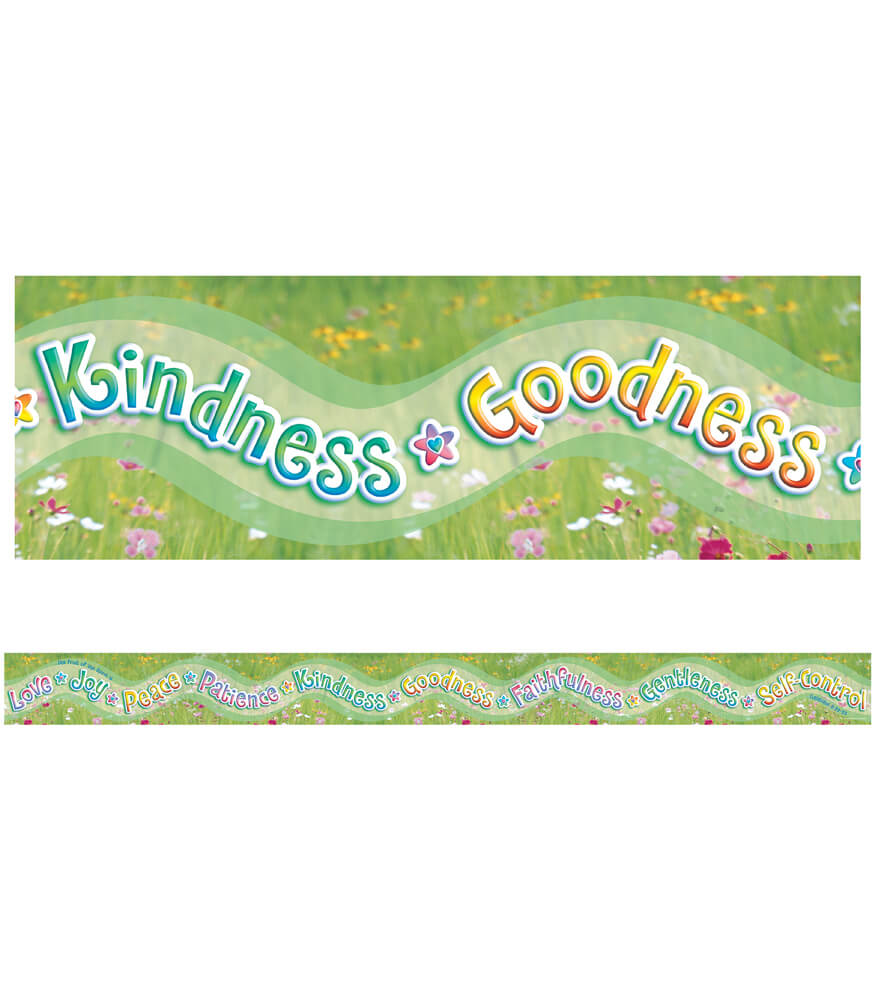 Fruit of the Spirit Straight Borders Product Image