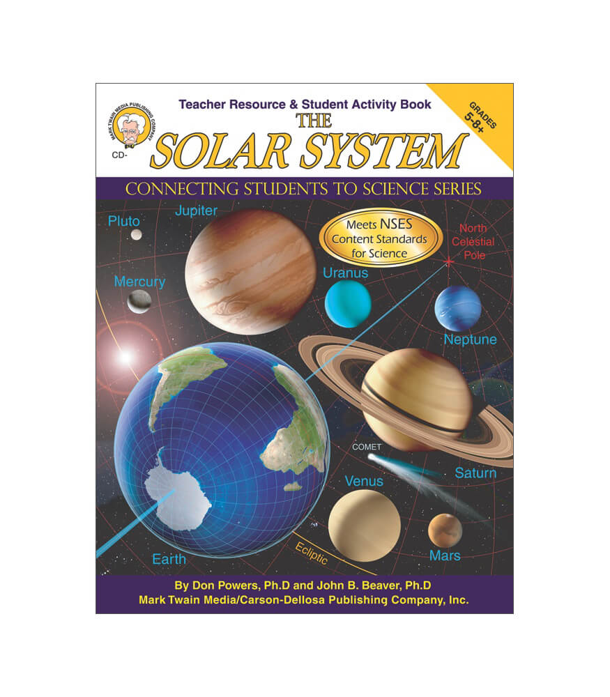 The Solar System Resource Book Product Image