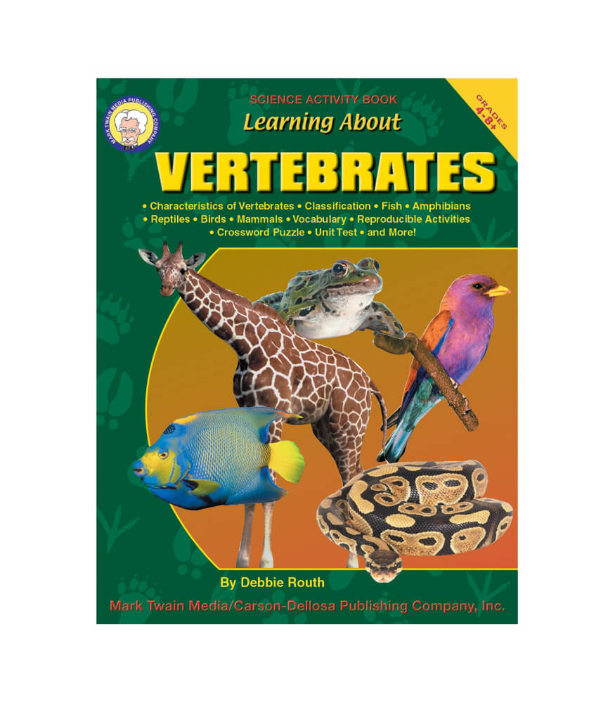 Learning About Vertebrates Resource Book Product Image