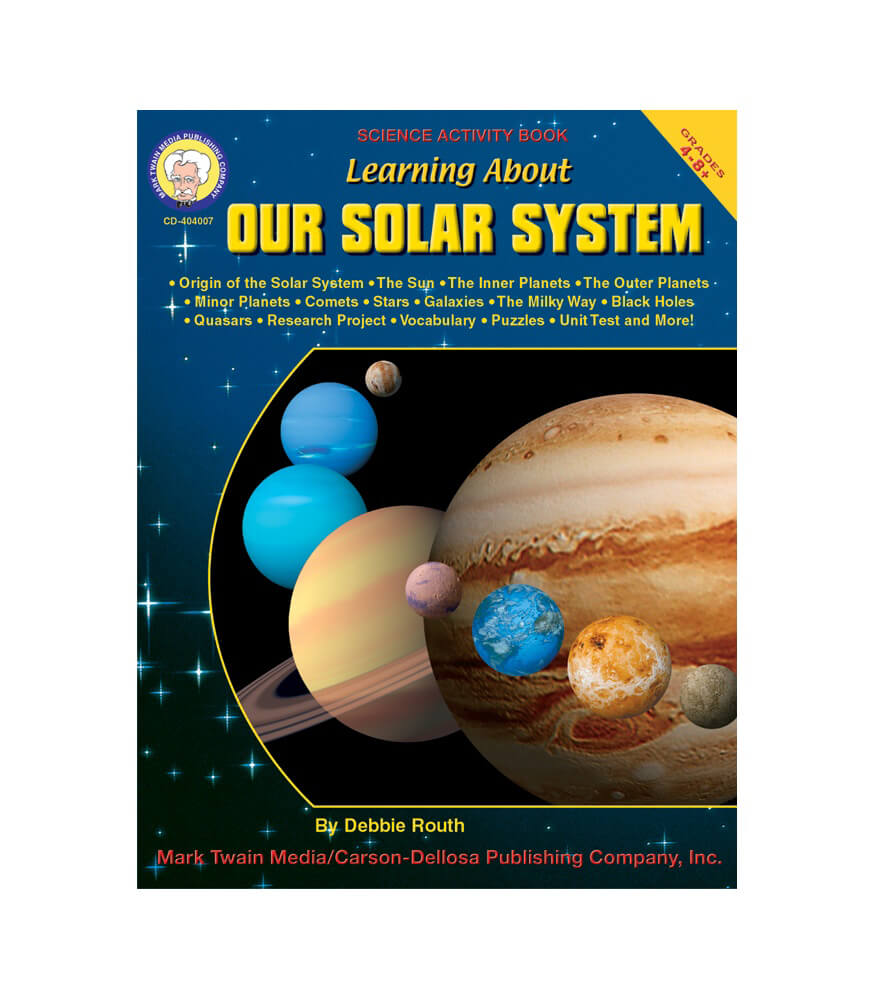 Learning About Our Solar System Resource Book Product Image