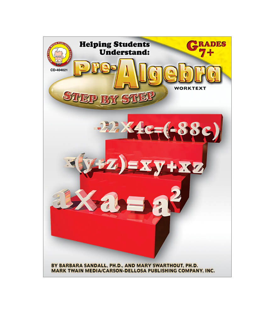 Helping Students Understand Pre-Algebra Resource Book Product Image