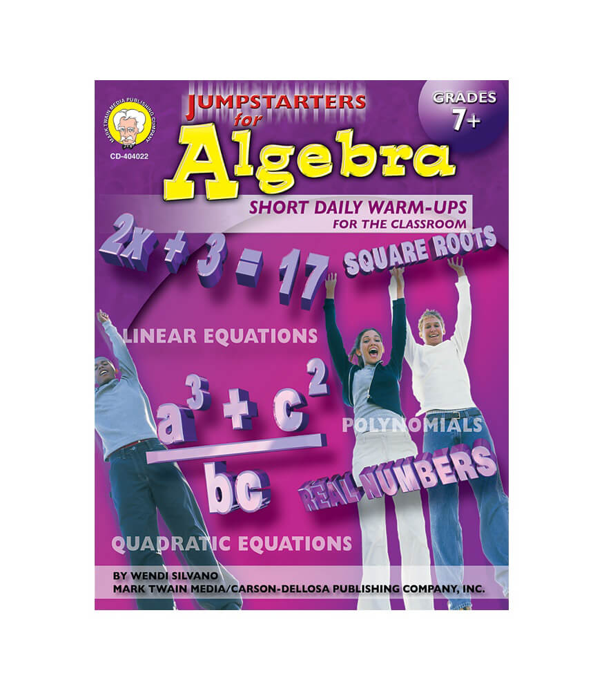 Jumpstarters for Algebra Resource Book Product Image