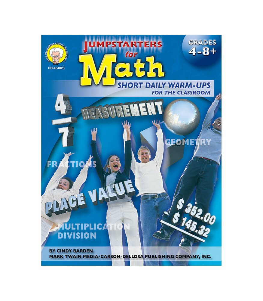 Jumpstarters for Math Resource Book Product Image