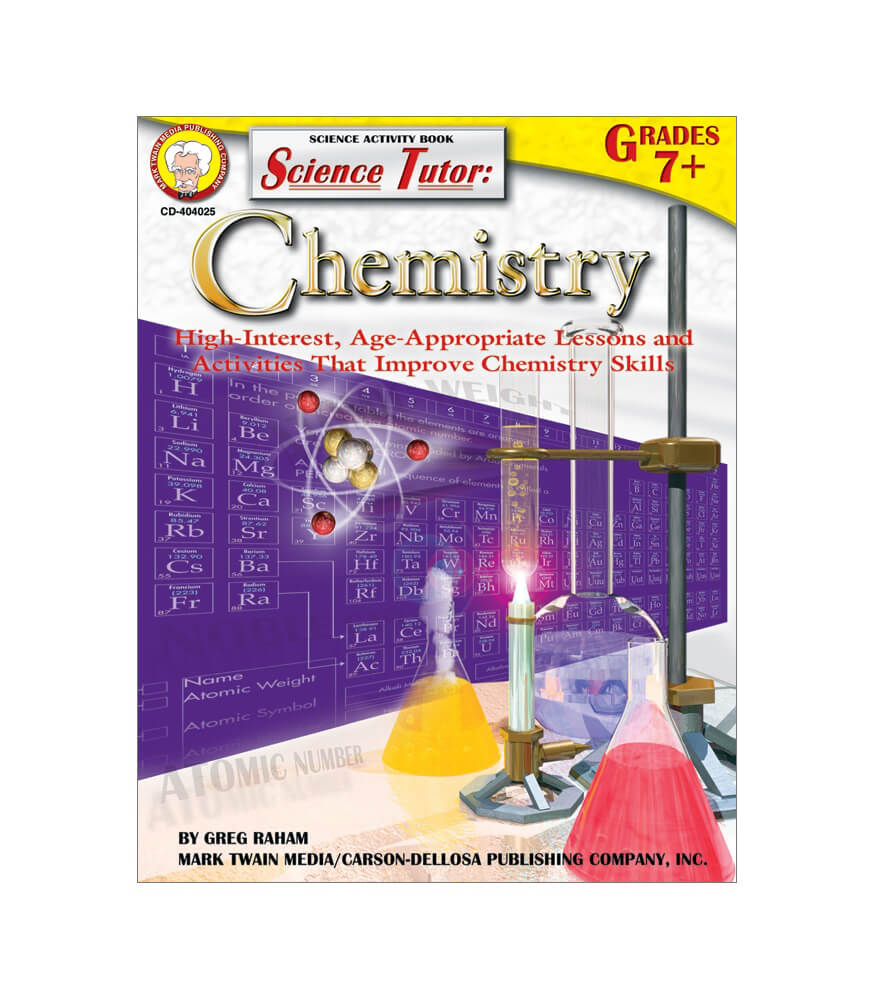 Science Tutor: Chemistry Resource Book Product Image