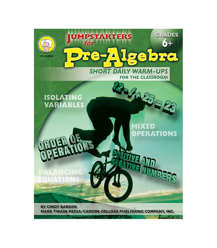 Jumpstarters for Pre-Algebra Resource Book Product Image