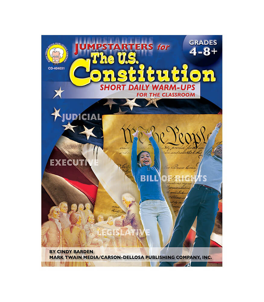 Jumpstarters for the U.S. Constitution Resource Book Product Image