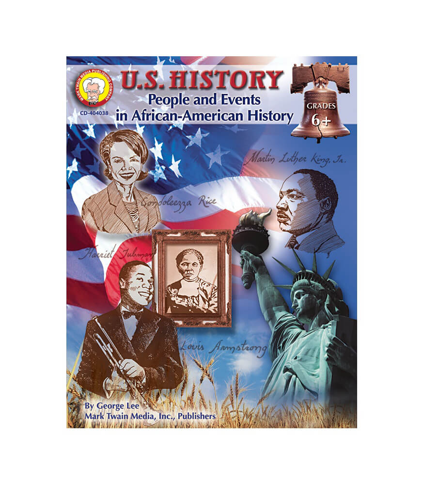 U.S. History: People and Events in African-American History Resource Book Product Image