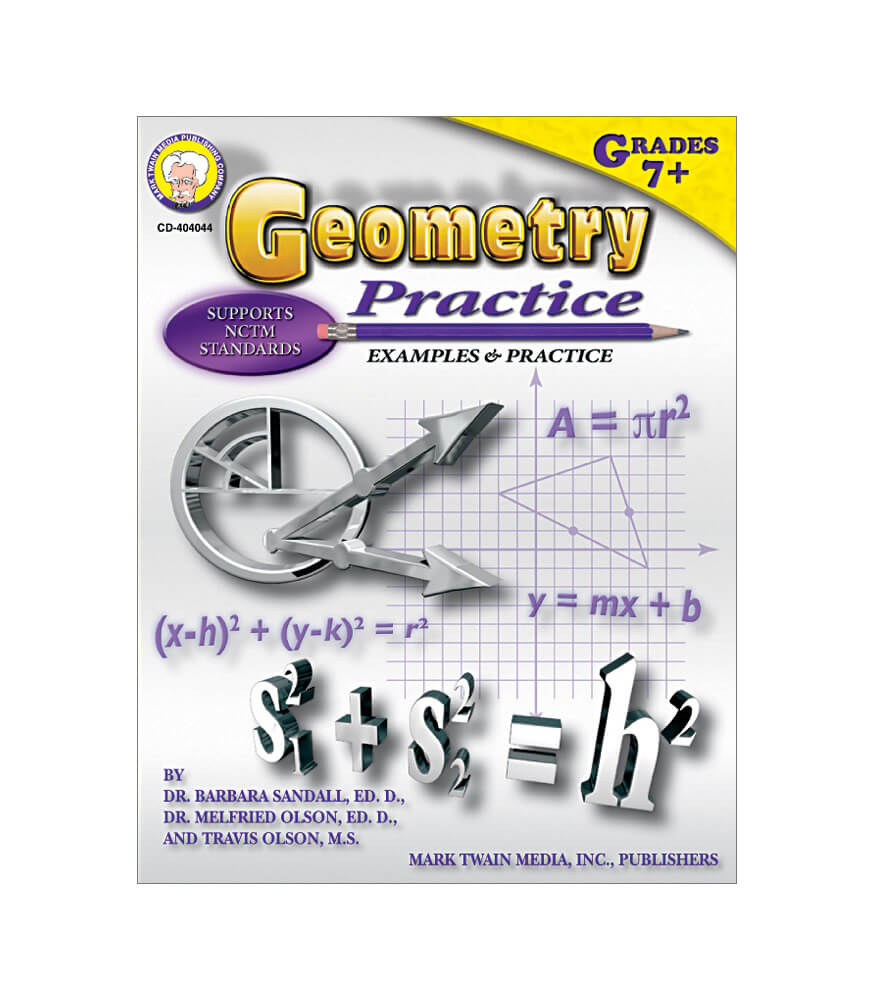 Geometry Practice Resource Book Product Image