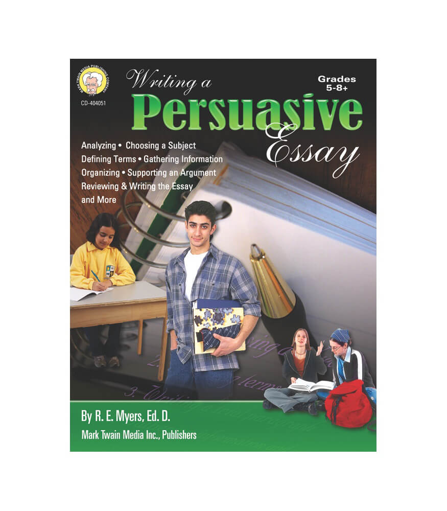 Writing a Persuasive Essay Resource Book Product Image